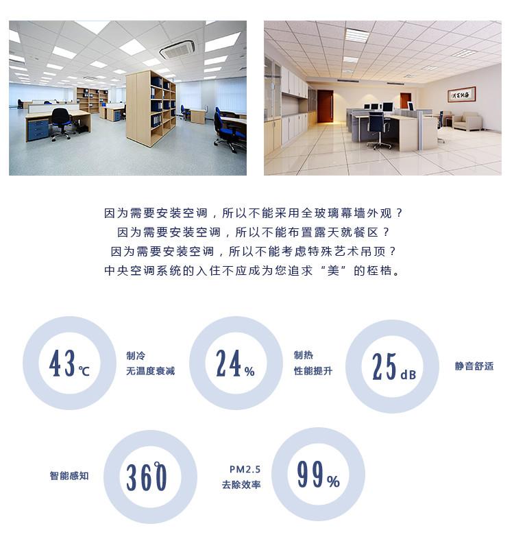 大金VRV X7多聯式中央空調系列產品介紹